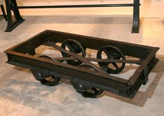 Image Of: Vintage Industrial Coffee Tables