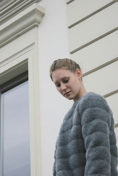 DIY Fake Fur Jacket Fur Jacket, Fur Coat, Hi Gorgeous, Fake Fur, Sewing Projects, Prom, Couture, Jackets, Diy