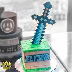 Minecraft Diamond Sword Minecraft Diamond Sword, Minecraft Sword, Java Programming Language, Magic, Cakes, Cake Makers, Kuchen, Cake, Torte