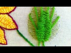 YouTube Moss Stitch, Diy Embroidery, Cactus Plants, Textile Art, Felting, Needlepoint, Creative Ideas, Needlework, Stitches