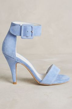 I have a pair like this except they are silver (and not suede). Jeffrey Campbell Imagine Heels - anthropologie.com