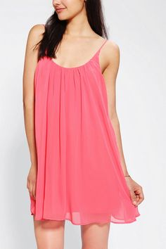 Sparkle & Fade Chiffon Swing Dress Online Only