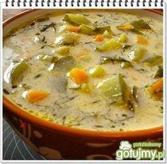 Zupa z zielonych ogórków. Place lizać!