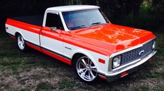 71 Chevy C10 lowered