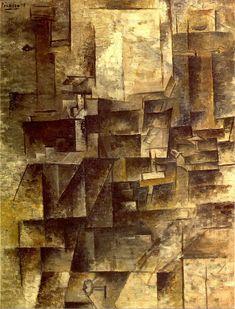 La table de toilette 1910. Pablo Picasso (1881-1973)