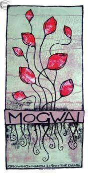 Mogwai #gigposter by Cricket-Press.