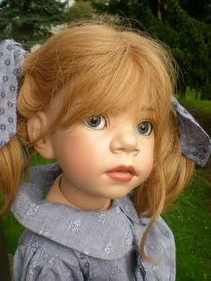 Götz Puppe Gianna E. Lindner 58 cm aus 1999 Künstlerpuppe Stehpuppe, Gotz Doll 2