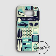Supernatural Cartoon Samsung Galaxy S7 Case | casescraft