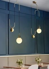 Cradle Brass Art Deco Pulley Pendant Light - All For Decoration Pulley Pendant Light, Art Deco Pendant Light, Art Deco Chandelier, Art Deco Lighting, Glass Pendant Light, Pendant Lighting, Lighting Ideas, Pendant Lamps, Pendant Lights Kitchen