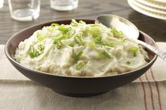 Try this Mashed Cauliflower Recipe, a twist on traditional mashed potatoes. This Mashed Cauliflower Recipe is a delicious Healthy Living side dish.