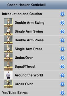 Free Kettlebell Workouts | Kettlebell Workout 1.20 App for iPad, iPhone - Healthcare & Fitness ...