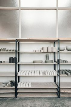 A Studio Tour with Jono Smart — a Glasgow-based Potter — Haarkon Adventures Pottery Workshop, Pottery Studio, Pottery Shop, Clay Studio, Ceramic Studio, Japanese Tea House, Country House Hotels, Ceramic Houses, One Bedroom