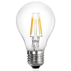 6 Watt E27 Filament LED Bulb (60W Equivalent)