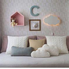 Home Interior Design : Photo Home Bedroom, Girls Bedroom, Room Interior, Home Interior Design, Baby Room Decor, Girl Room, Home Decor, Design Interiores, Bedclothes