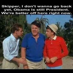Wish I was on Gilligan's Island.