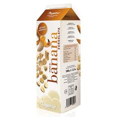 BANANA PUREE, Weight: 1000 gr