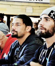 Roman and Seth...these 2 side by side :)