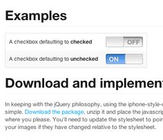 iPhone-style Checkboxes on your website