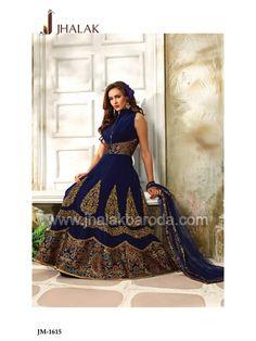 Designer Anarkali Dress- JM-1615