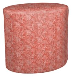 Gogol Ottoman in Floral Rosettes,  featured on Guildery