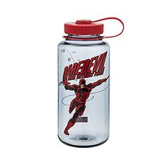 They're also BPA free and made in the USA. Water Bottle Graphics Choices & Bottle Color (Your choice) Nalgene Marvel Avengers Wide Mouth Tritan Water Bottles. Bpa Free Water Bottles, Daredevil, Marvel Avengers, Ebay, Spiderman, Action, Travel, Shopping, Accessories