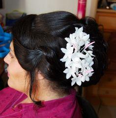Aisha mas que un -arte: Maquillaje y peinado de novia: Yolanda