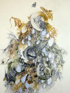 Aurel Schmidt. Body Swallows World / Maneater.