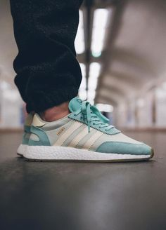 Adidas Iniki Runner Boost wmns - Easy Green/Cream White - 2017 (by Jeremy Szy)  Buy here: Sneakersnstuff / Overkill / The Good Will Out / More shops