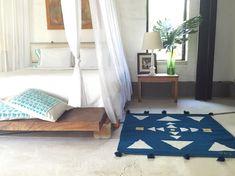 YE' ii Arte Textil Mexicano Contemporáneo | tapetes de lana 100% + Carol Schoch ropa de cama