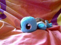 Amigurumi Pokemon Schiggy von Maidivi Crochet auf DaWanda.com