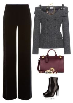 """Tweed Blazer"" by houston555-396 ❤ liked on Polyvore featuring Armani Collezioni, Faith Connexion, Balmain, Anya Hindmarch, Dorothy Perkins, Kevin Jewelers and Betsey Johnson"