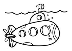 submarine coloring pages printable high quality coloring pages - Submarine Coloring Pages Print