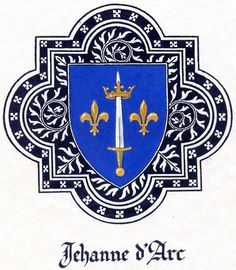 jehanne d'arc - Jehanne's coat of arms