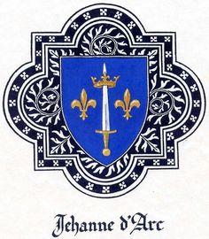 jehanne d'arc - Jehanne's coat of arms