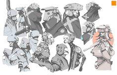 Sketches 1 by Darren Bartley.