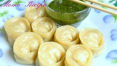 Chicken Momos recipe || Steamed Momos || Chicken Dim Sum - Nepali Chicke...