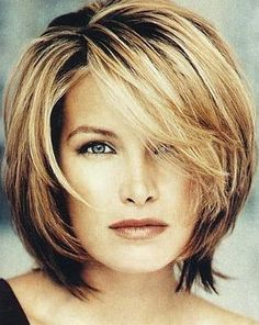 Medium Hairstyles with Bangs for Women Over 40 with Fine Hair | Mid Length Hair Styles - Introduction to Mid Length Hair Styles. Learn ...