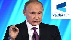 Putin Participates Sochi' Valdai Club Discussion