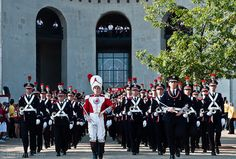 Ohio State's Marching Band uniform