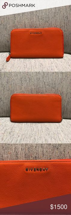 Givenchy rare pandora zip around wallet d5fddd925d