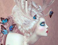 metamorphosis by Natalie Shau, via Behance