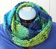 Hand knit infinity scarf / cowl $25  https://www.etsy.com/listing/121807911