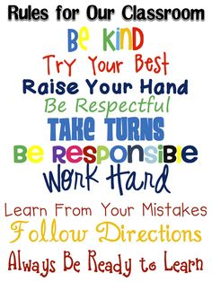Fun in First Grade: FREE Subway Art classroom rules Classroom Rules Poster, Classroom Quotes, Classroom Behavior, Future Classroom, School Classroom, Classroom Ideas, Classroom Displays, Art Classroom, Classroom Expectations