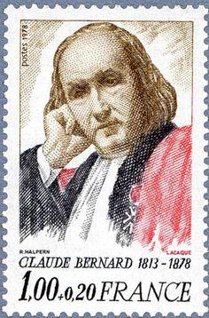 Timbre Claude Bernard.