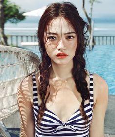 Seon Hwang by Mok Jungwook for Ceci Korea June 2014