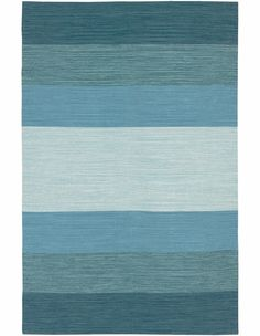 Blue Ombre Rug - beautiful!