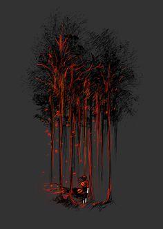 A Crimson Retaliation Art Print