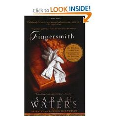 """Fingersmith by Sarah Waters.  """"Fingersmith is the third slice of engrossing lesbian Victoriana from Sarah Waters. Although lighter and more melodramatic in tone than its predecessor, Affinity, this hypnotic suspense novel is awash with all manner of gloomy Dickensian leitmotifs: pickpockets, orphans, grim prisons, lunatic asylums, 'laughing villains,' and, of course, 'stolen fortunes and girls made out to be mad.'"""" I loved this book, I could barely put it down. I think anyone would enjoy it."""