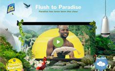 Bref transforma el baño de mujeres en un paraíso :)