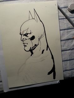 SKETCH BATMAN #batman sketch
